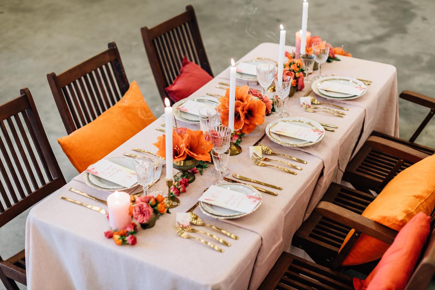 Wedding design pour un mariage élégant aux inspirations bollywood.