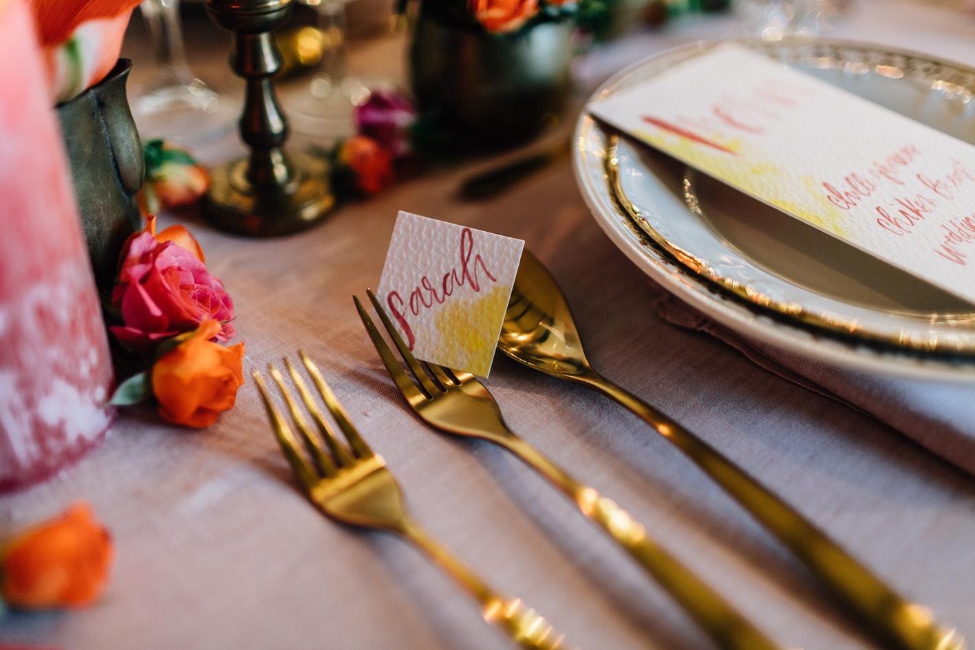 Idées de décoration pour un mariage mixte entre la France et l'Inde.