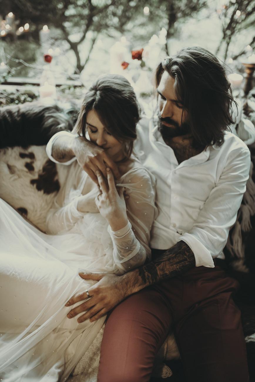 Marie-Svetlana Kadjo / Wedding planner éthique / Paris / Mariage en hiver