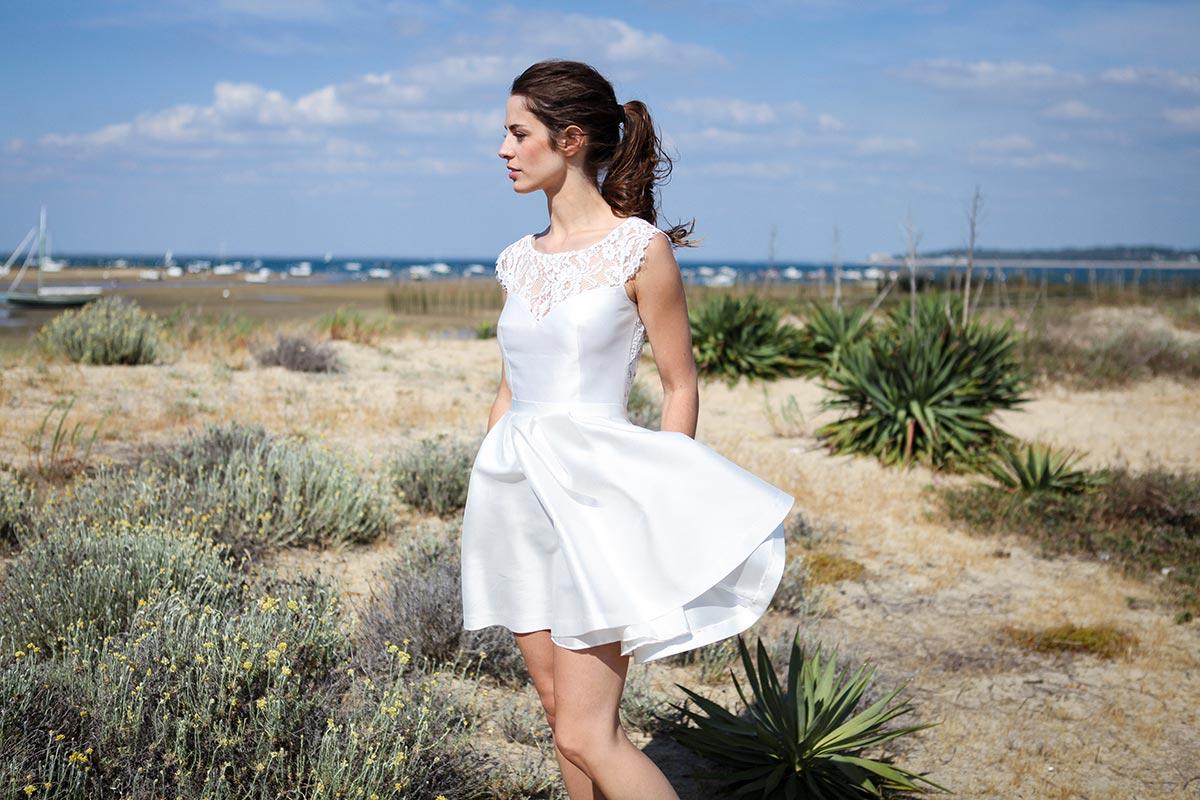 10 bonnes raisons de choisir une robe courte pour son mariage